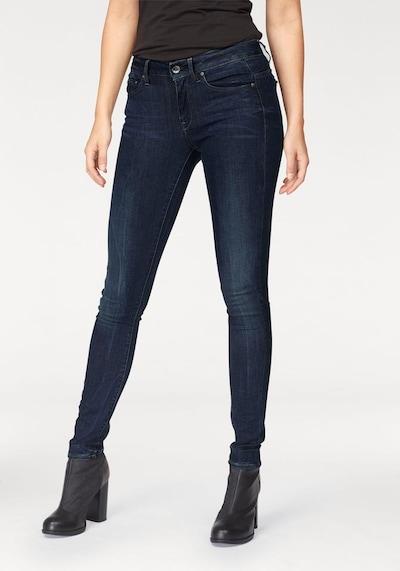 G-Star RAW Jeans 'Midge Zip' in dunkelblau, Modelansicht