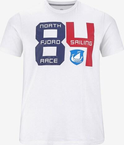Jan Vanderstorm T-shirt ' Salenko ' in weiß, Produktansicht