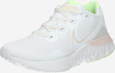 Sneaker de alergat 'Renew Run' NIKE pe alb: Privire frontală