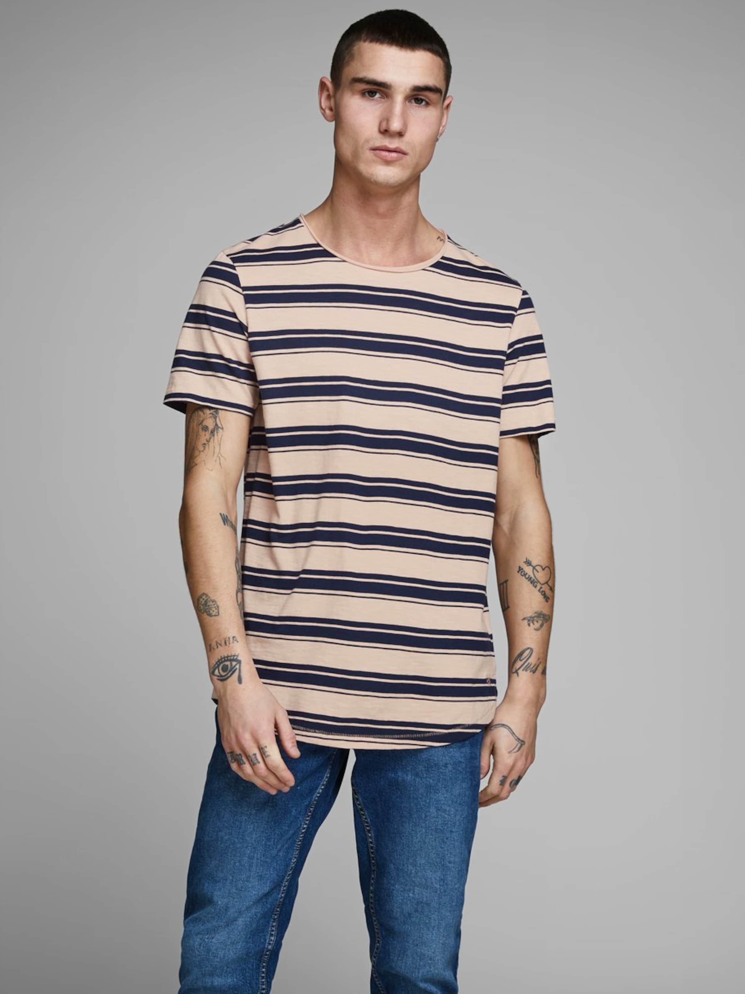 Jones In T shirt SandSchwarz Jackamp; 8nPwOk0