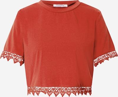 GLAMOROUS Shirt in rostrot, Produktansicht