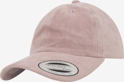 Flexfit Cap 'Low Profile Velours' in rosé, Produktansicht