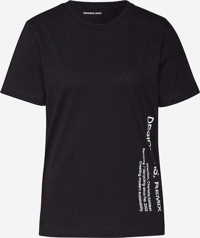 Designers Remix Shirt 'Stanley Side Logo' in schwarz, Produktansicht