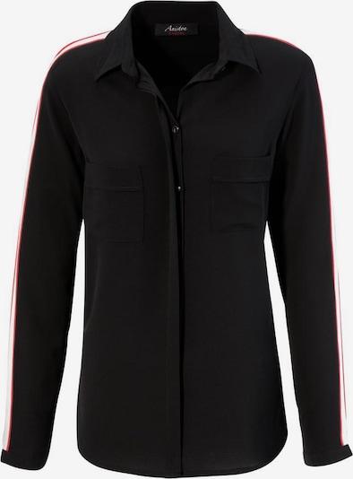 Aniston CASUAL Hemdbluse in schwarz / weiß, Produktansicht