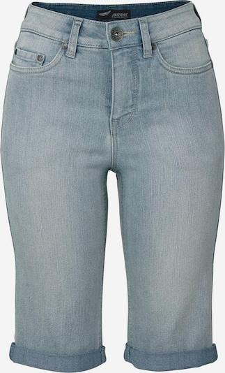 ARIZONA Jeansbermudas in hellblau, Produktansicht