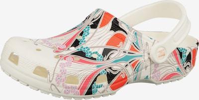 Crocs Clogs in mischfarben / weiß, Produktansicht