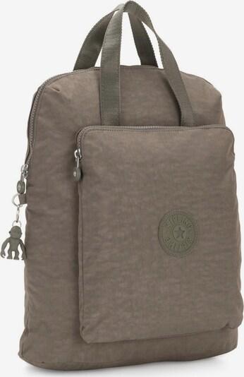 KIPLING Laptoprucksack 'Kazuki' in camel / oliv, Produktansicht