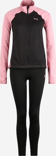 PUMA Sport-Anzug in rosa / schwarz, Produktansicht