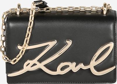 Karl Lagerfeld Torba preko ramena 'K/Signature' u zlatna / crna, Pregled proizvoda