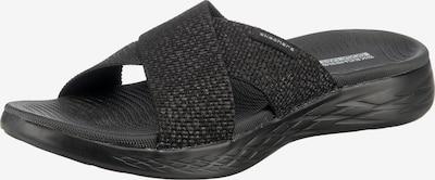 SKECHERS Pantolette in schwarz, Produktansicht