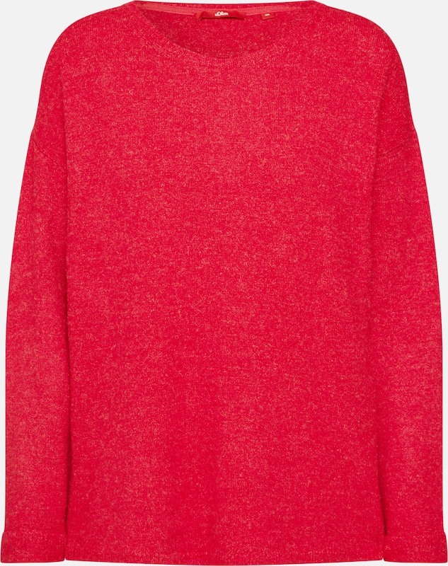 Pull Rose Label En Foncé oliver S Red over IyvYb7f6g