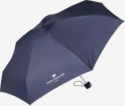TOM TAILOR Regenschirm in dunkelblau: Frontalansicht