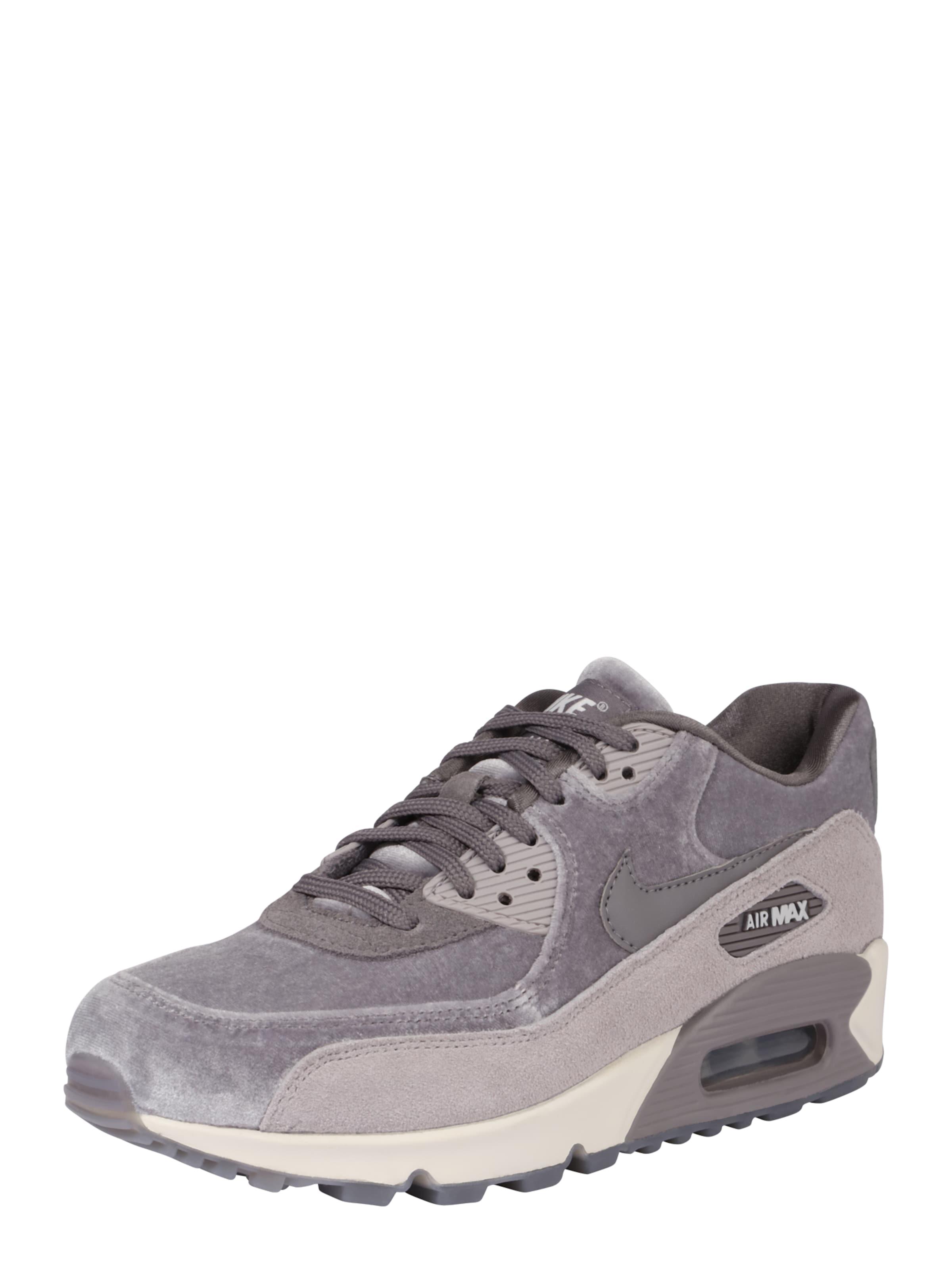 Chaussures De Sport Nike Sportswear Bas « Air Max 90 Lx « Gris / Violet R9tbBbe