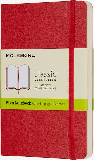 MOLESKINE Notizbücher P/A6- Blanko in rot, Produktansicht