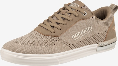 Dockers by Gerli Sneakers in beige / braun, Produktansicht