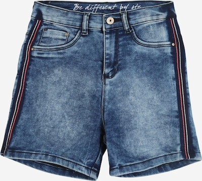STACCATO Shorts in blue denim, Produktansicht