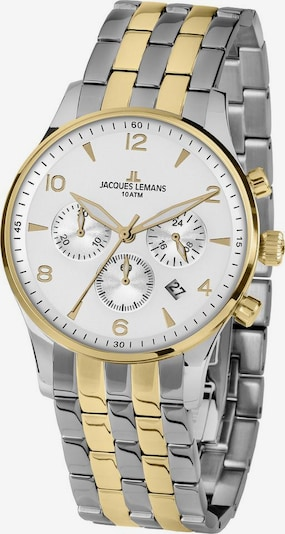 Jacques Lemans Chronograph 'London, 1-1654ZH' in gold / silber, Produktansicht