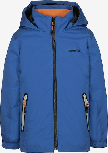 Kamik Regenjacke 'Gordon' in blau / orange, Produktansicht