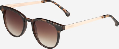 Komono Sonnenbrille 'Francis' in braun / schwarz, Produktansicht