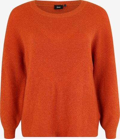 Zizzi Sweter 'MFAIRY' w kolorze pomarańczowo-czerwonym, Podgląd produktu