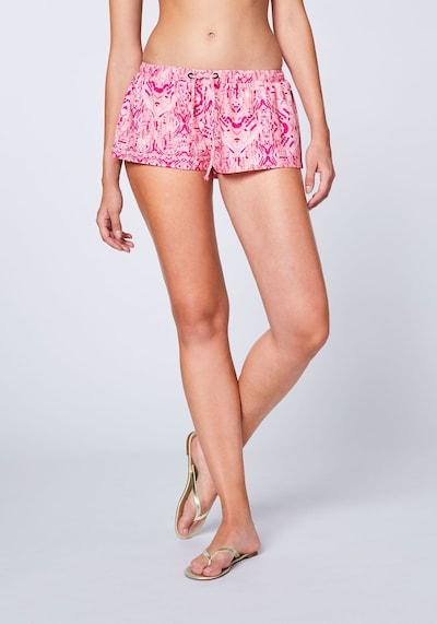 CHIEMSEE Szorty kąpielowe w kolorze różowy pudrowym, Podgląd na modelu(-ce)
