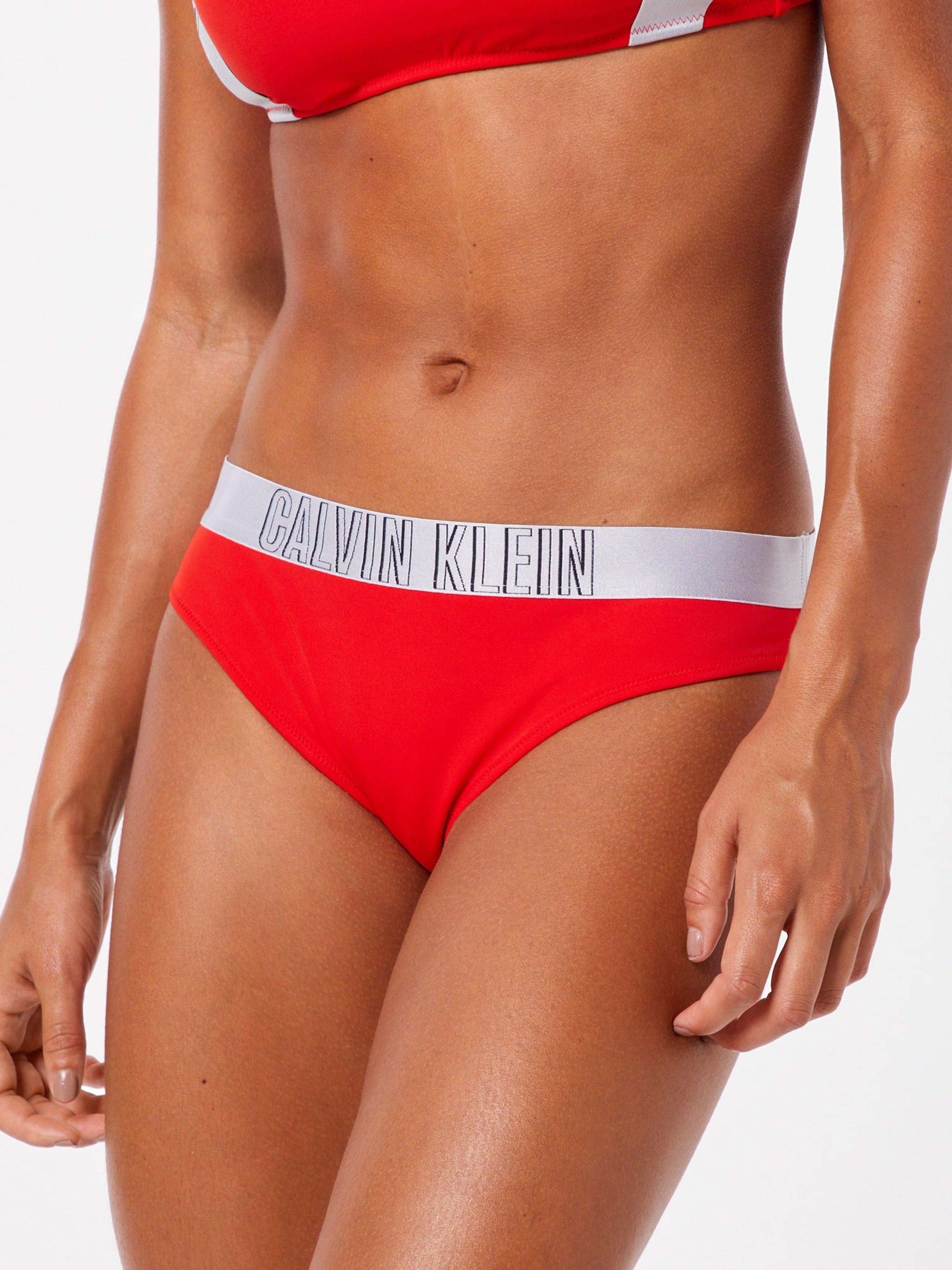 Klein In Calvin Bikinihose Swimwear RotWeiß cAqLj4S3R5