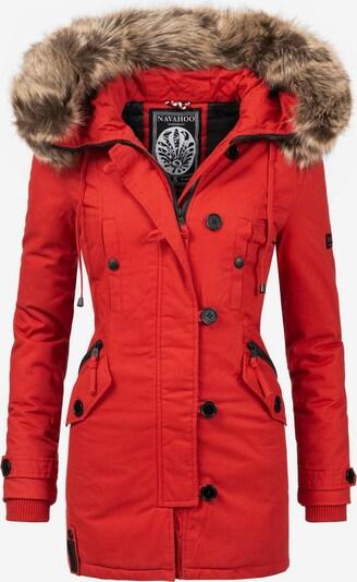 NAVAHOO Wintermantel 'Pauline' in rot, Produktansicht