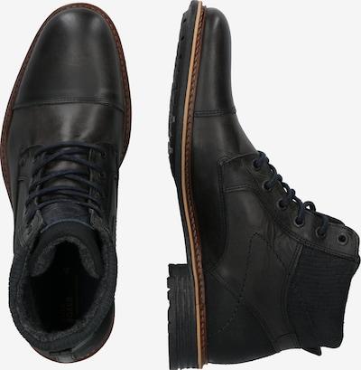 Suvarstomieji batai iš BULLBOXER , spalva - tamsiai ruda: Vaizdas iš šono
