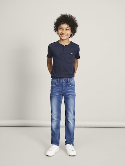 NAME IT Jean en bleu denim: Vue de face