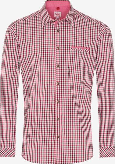SPIETH & WENSKY Trachtenhemd 'Koblenz' in camel / braun / rostrot / weiß, Produktansicht