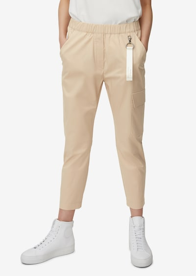 Marc O'Polo Pure Jogg-Pants in hellbeige, Modelansicht