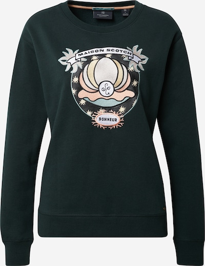 SCOTCH & SODA Sweatshirt in dunkelgrün / mischfarben, Produktansicht