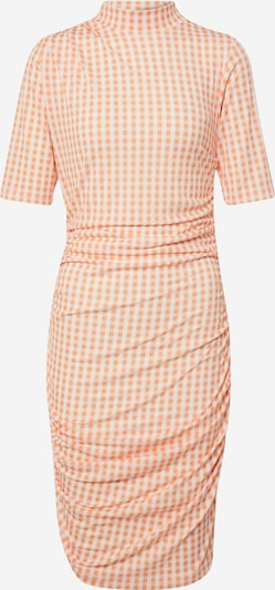 EDITED Kleid  'Nessa' in creme / orange, Produktansicht