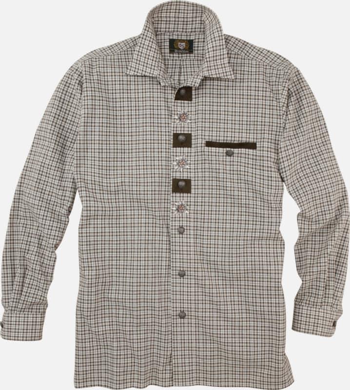 OS-TRACHTEN Trachtenhemd mit Stickerei