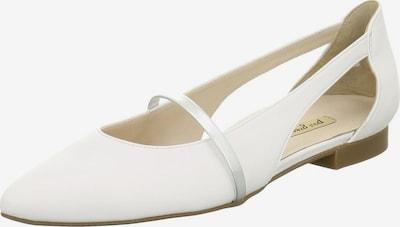 Paul Green Ballerinas in silber / weiß, Produktansicht