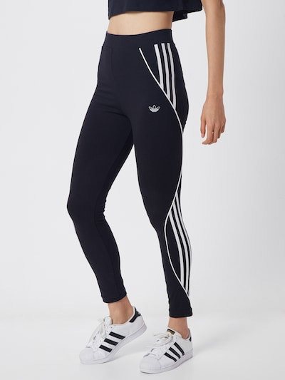 ADIDAS ORIGINALS Tight in schwarz / weiß, Modelansicht