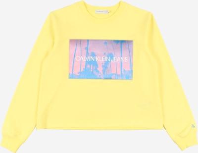 Calvin Klein Sweatshirt in gelb / mischfarben, Produktansicht