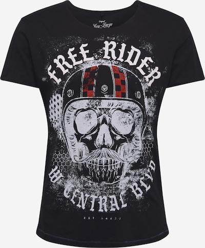 Key Largo T-Shirt 'MT MOUSTACHE' en noir, Vue avec produit