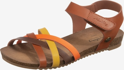MUSTANG Sandale in braun, Produktansicht