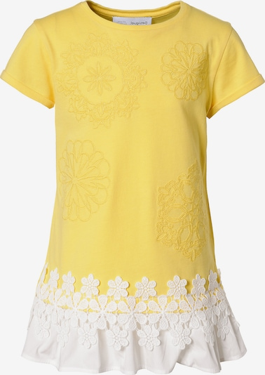 Desigual T-Shirt in gelb / weiß, Produktansicht