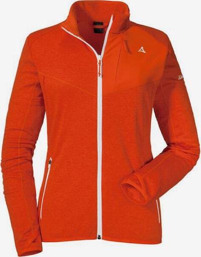 Schöffel Jacke 'Savoyen 2' in rot / weiß, Produktansicht