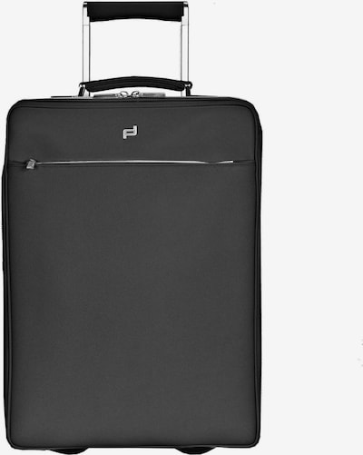 Porsche Design Trolley 'French Classic' in de kleur Zwart, Productweergave