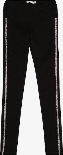 NAME IT Leggings in hellpink / black denim, Produktansicht