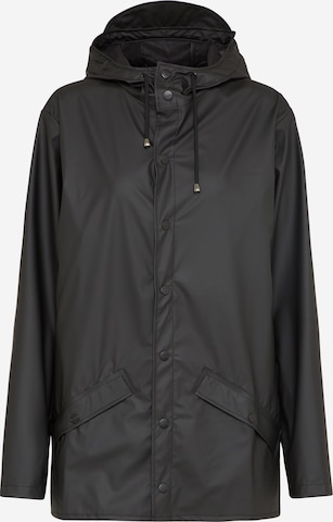 RAINS Regenjacke in Black
