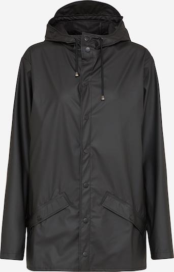 RAINS Tussenjas in de kleur Zwart, Productweergave