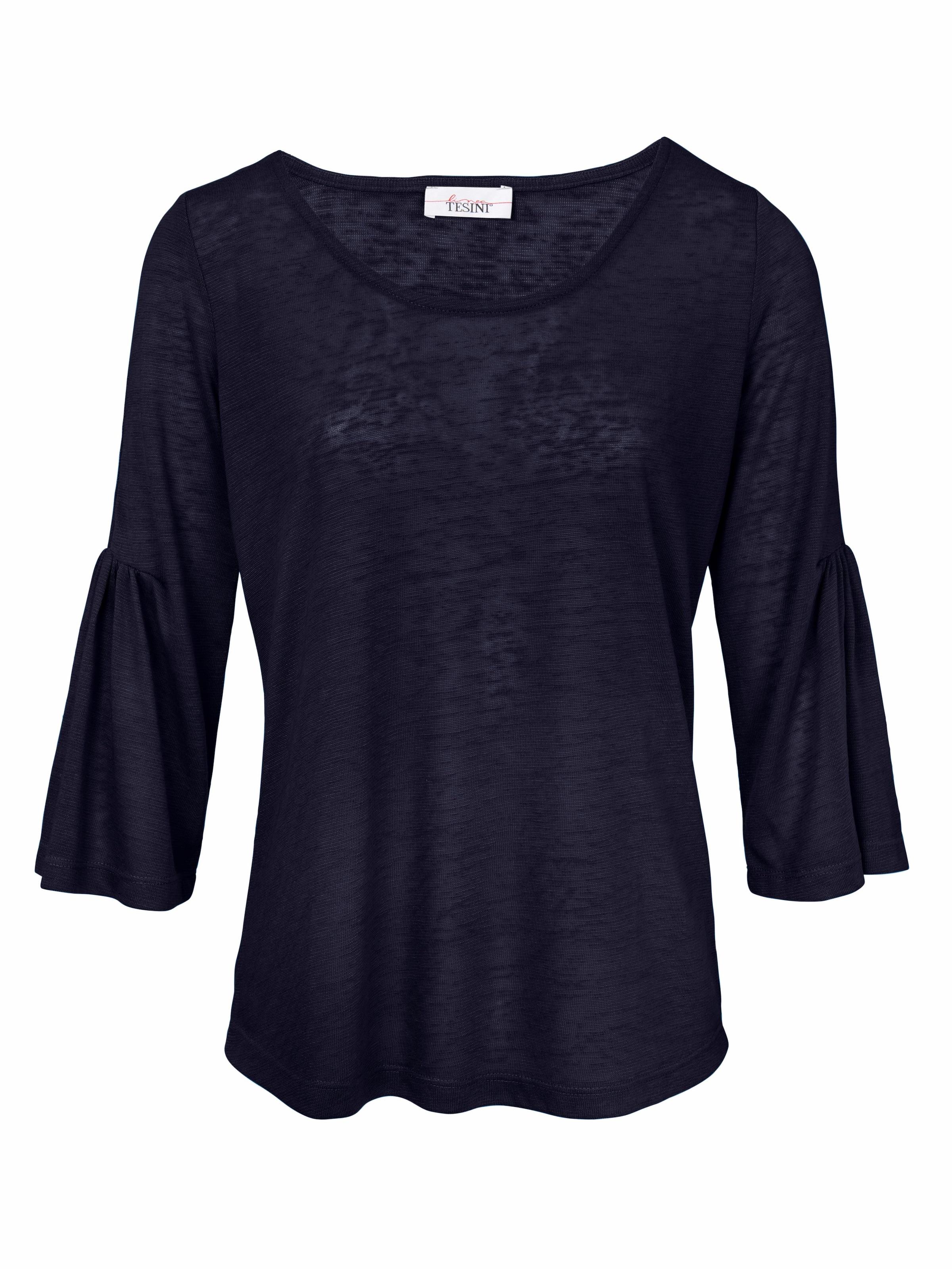 Linea Tesini by heine Shirt mit Volant Billig Günstiger Preis Viele Arten Großhandelspreis Online Billig Kaufen Authentisch Verkauf Billig hCscbECR