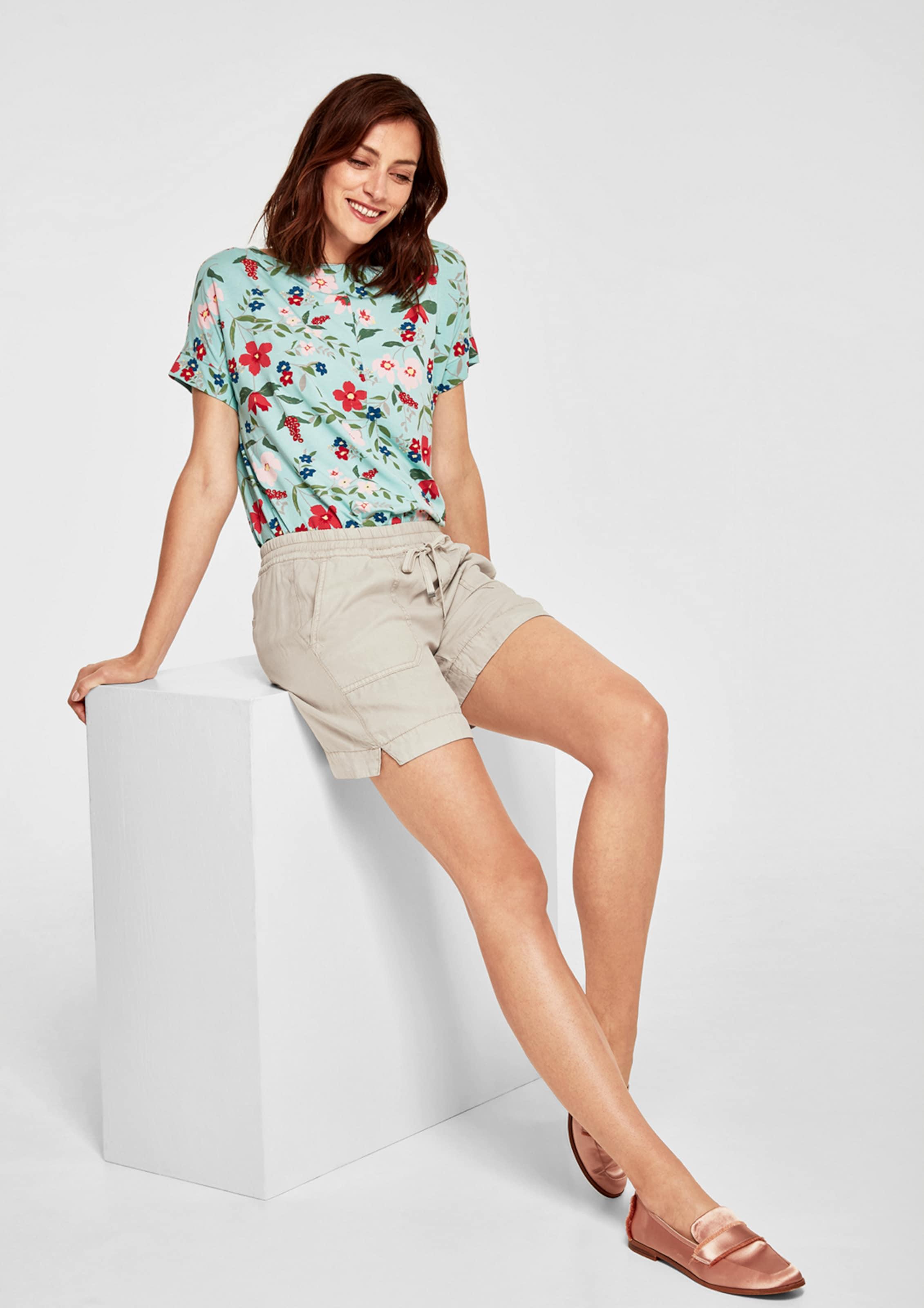 In Beige Label Red Shorts S oliver RL5Aq4c3j