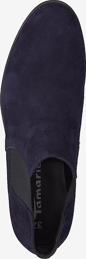 TAMARIS Chelsea boots in de kleur Navy: Bovenaanzicht