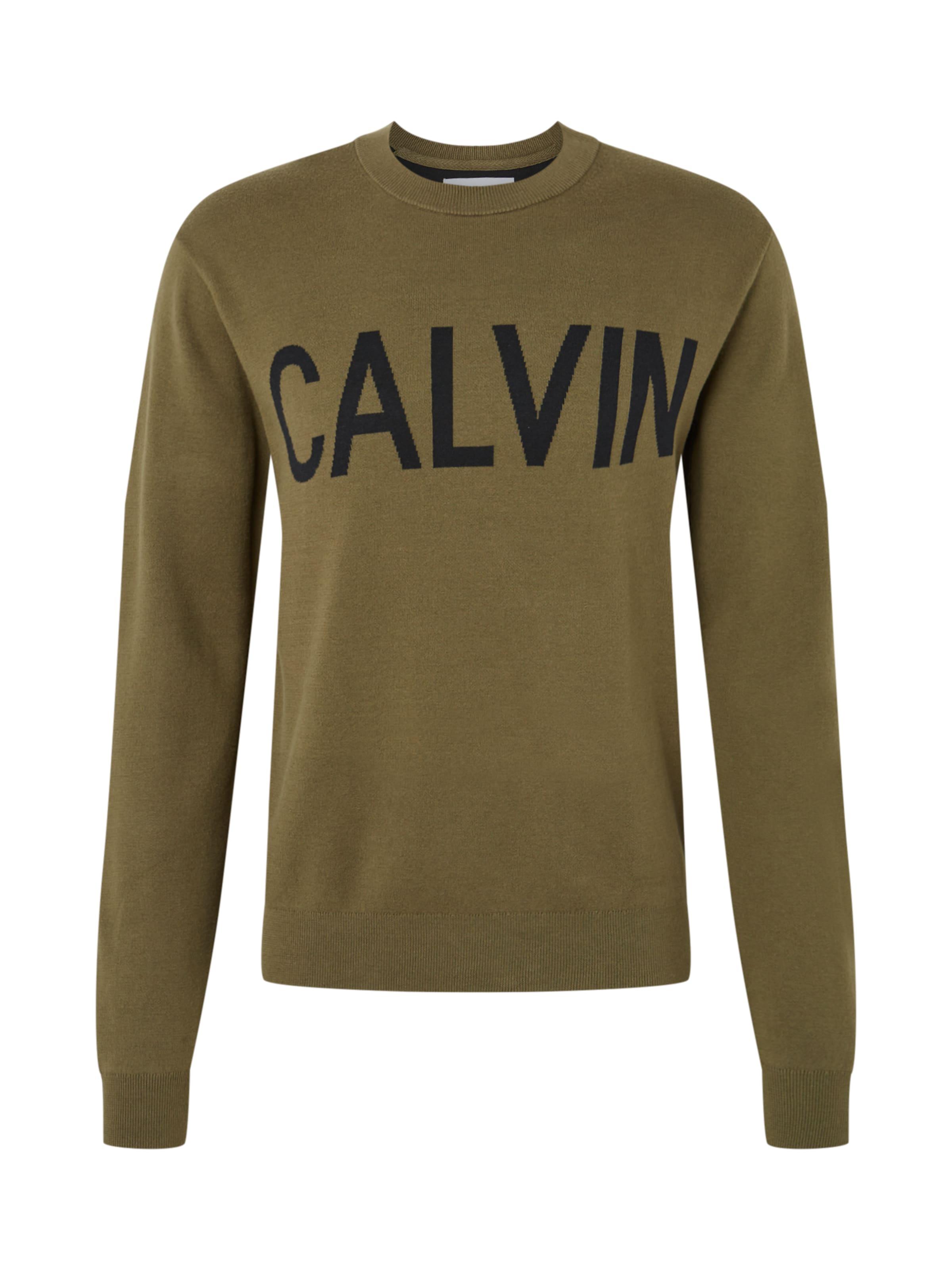 KhakiSchwarz Jeans Klein In Calvin Sweatshirt 'calvin' XiulOTwkZP
