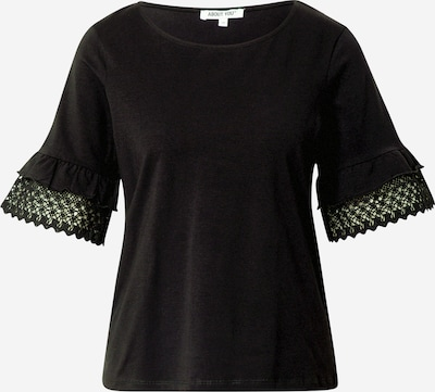 Tricou 'Godela' ABOUT YOU pe negru, Vizualizare produs